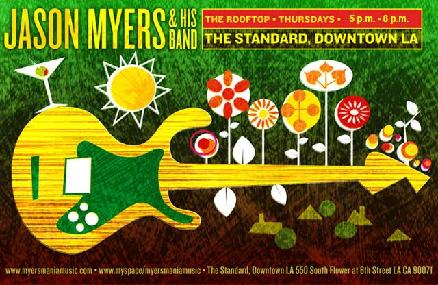 Jason Myers Band Poster, The Standard